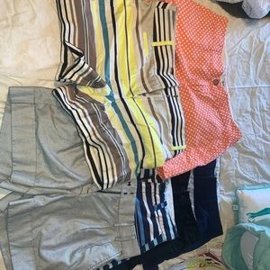 6 pairs of shorts size 2